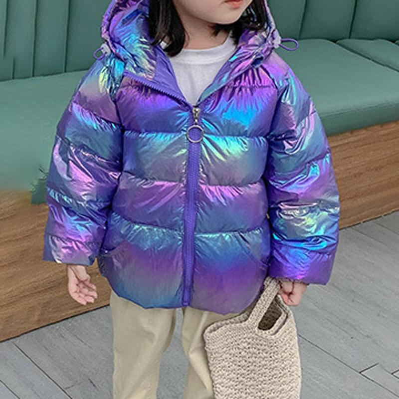 Thick Fashion Shiny Duck's Down Coat Multi-color for Selection