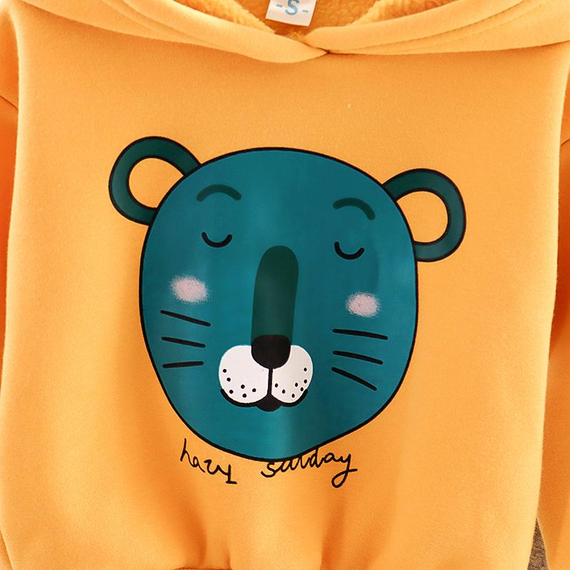 2-piece Tiger Pattern Suit for Toddler Boy