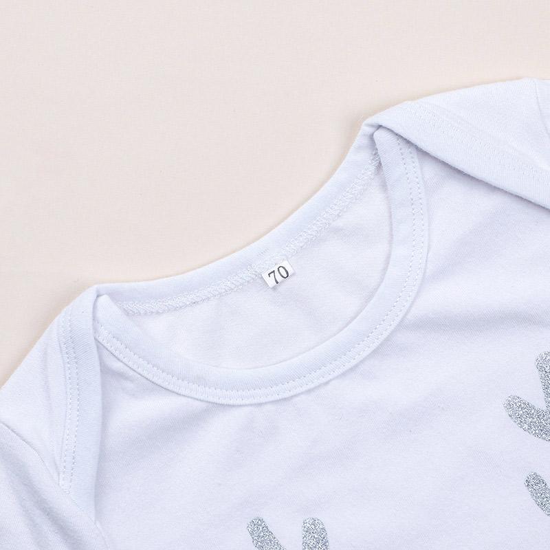 2-piece Deer Jumpsuit & Polka Dot Pants for Toddler Girl