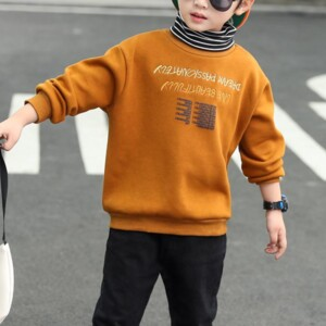 Letter Pattern Sweatshirts for Boy