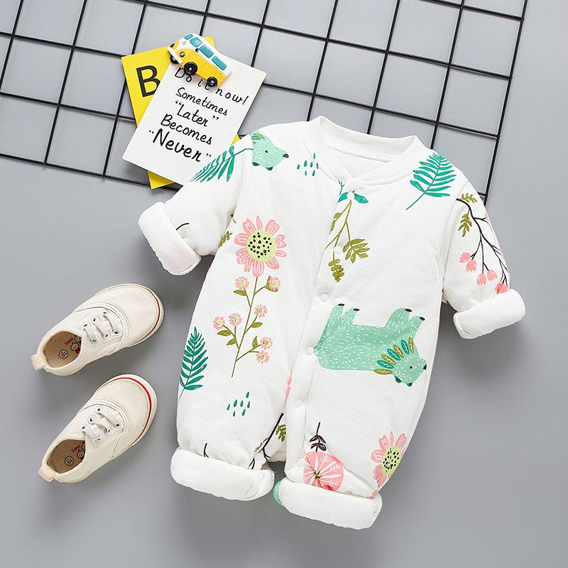 Extra Thick Jumpsuit for Baby Girl