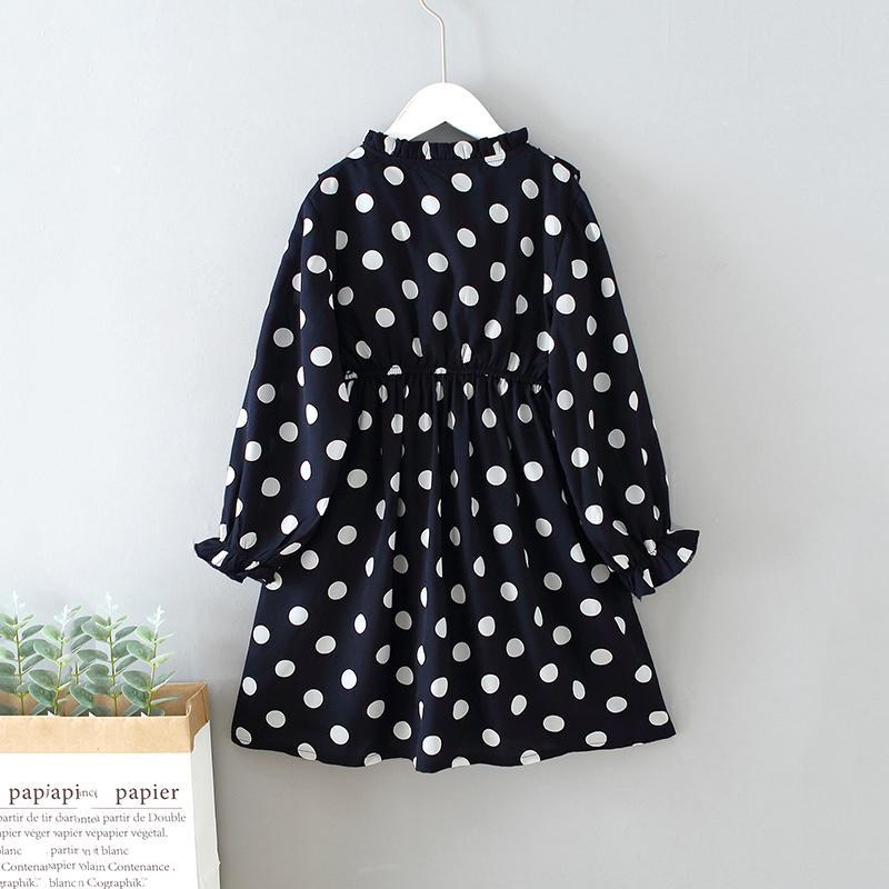 Polka Dot Pattern Dress for Girl