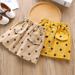 Polka Dot Skirts for Toddler Girl