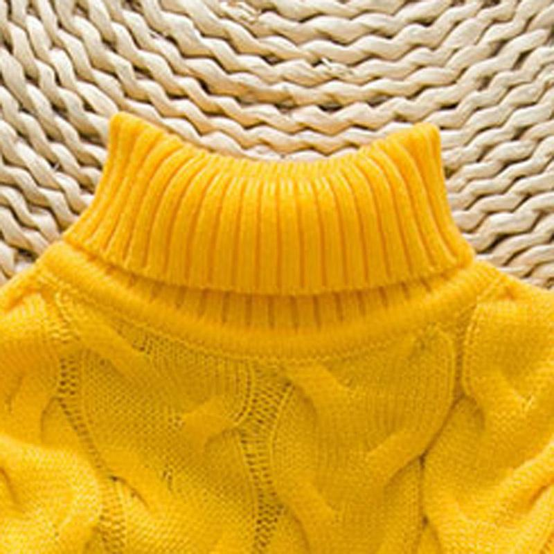 Solid Knit Sweater for Toddler Girl