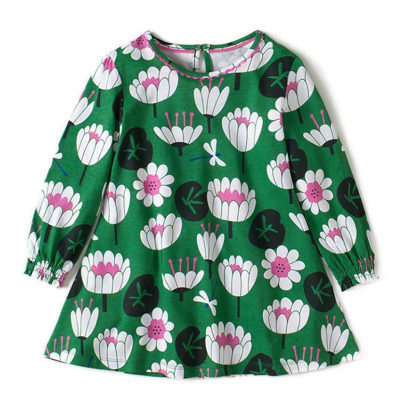 Floral Printed Dress for Toddler Girl