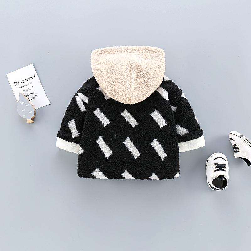 Color-block Thicken Coat for Toddler Boy
