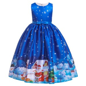 Christmas Formal Dress for Girl