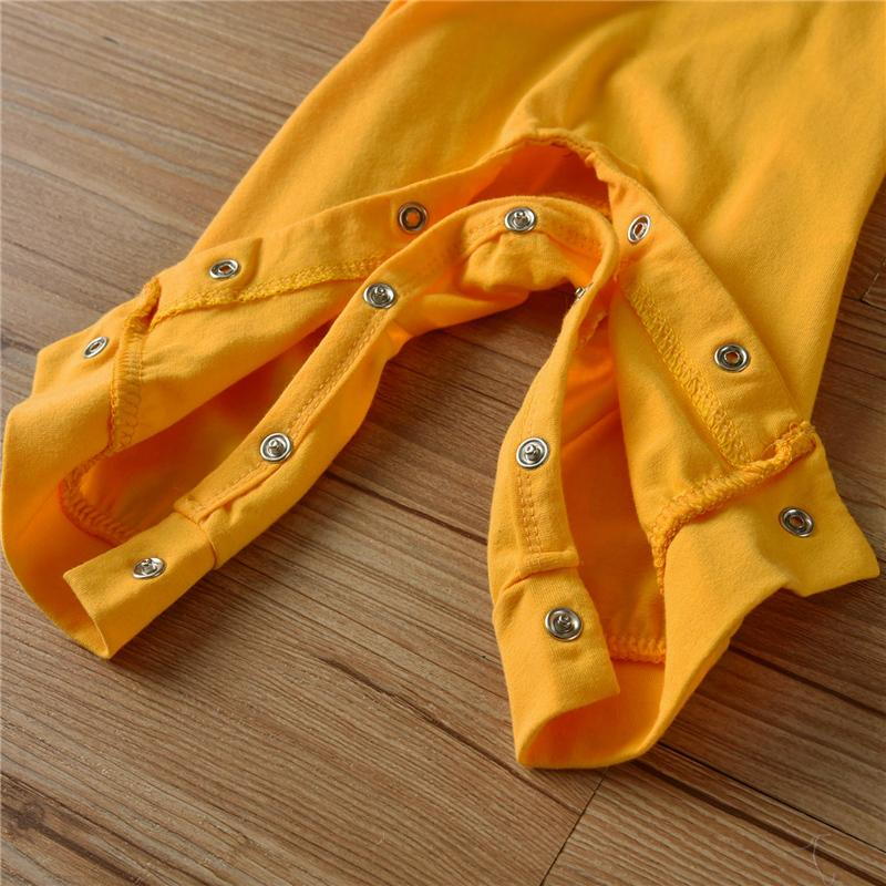 Solid Lapel Collar Jumpsuit for Baby Boy