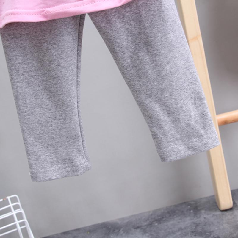 2-piece Color-block Hoodie & Pants for Toddler Girl