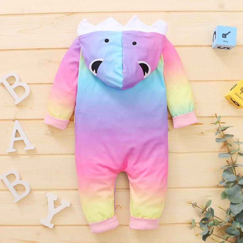 Shark Pattern Jumpsuit for Baby