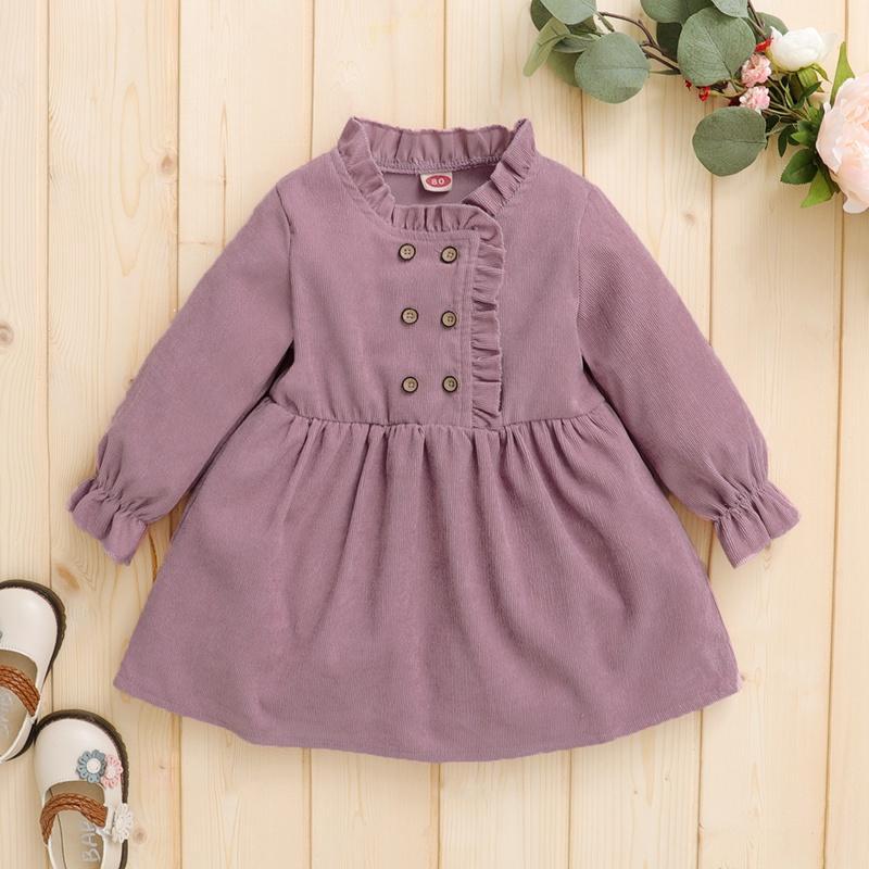 Long-Sleeved Dress for Baby Girl