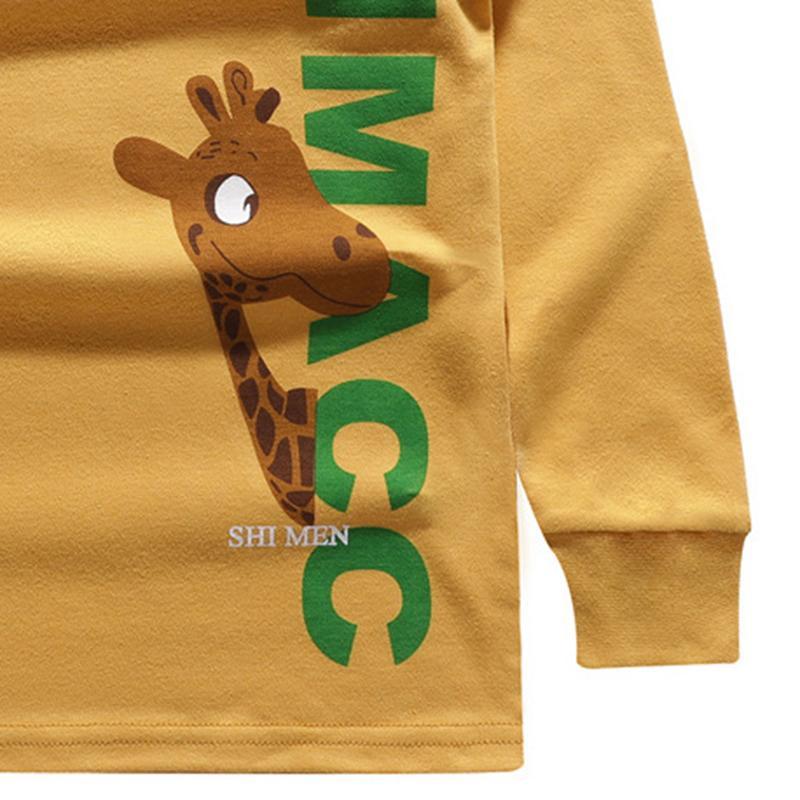 Animal Pattern Long Sleeve T-shirt for Boy