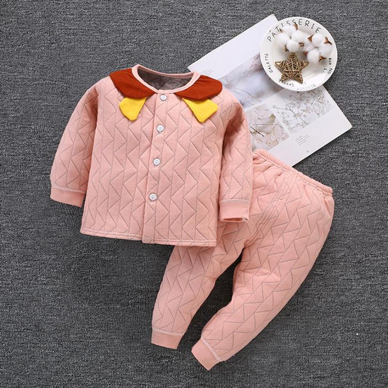 2-piece Color-block Top & Pants for Baby