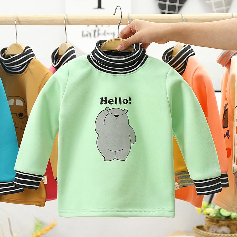 Cartoon Design Sweatshirts for Toddler Boy