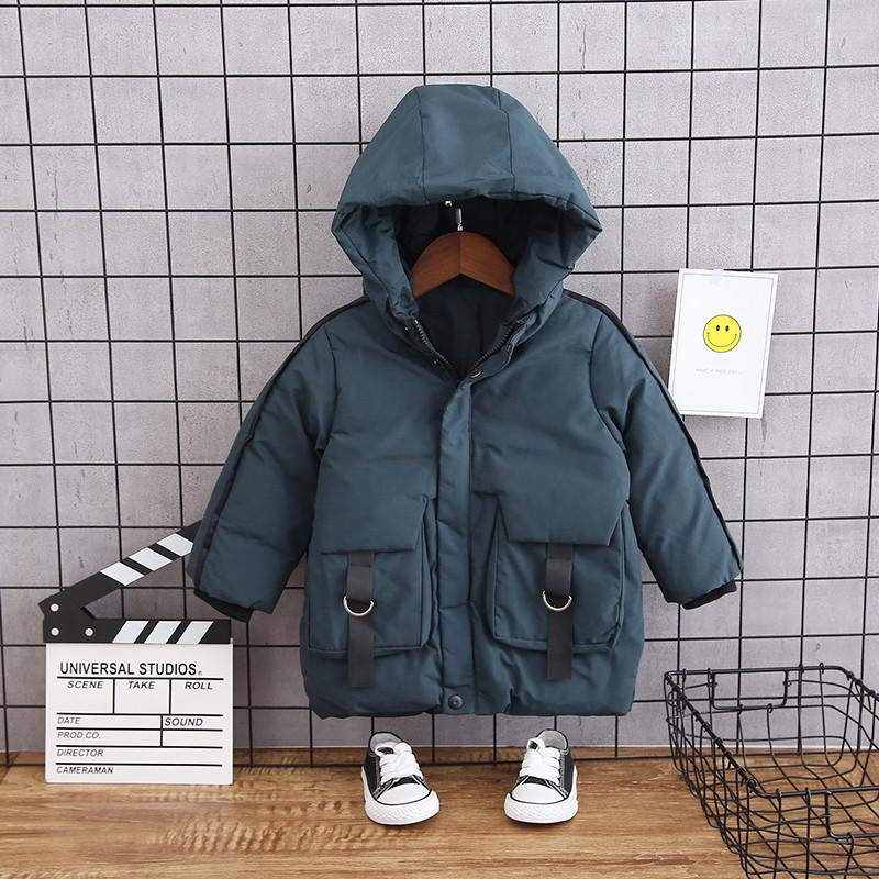 Extra Thick Puffer Jacket for Toddler Boy