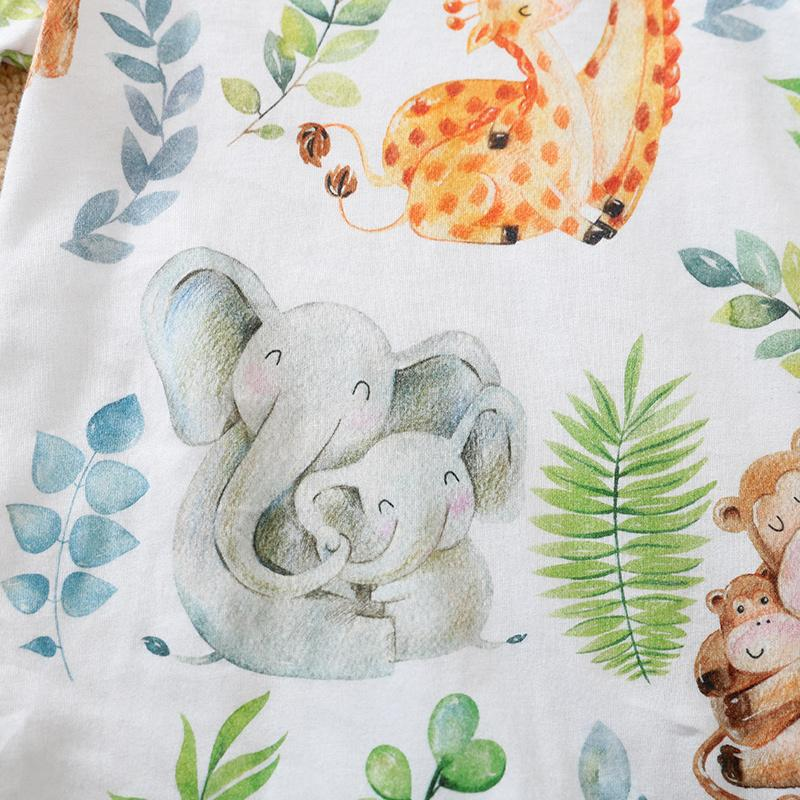 Animal Pattern Jumpsuit for Baby Boy