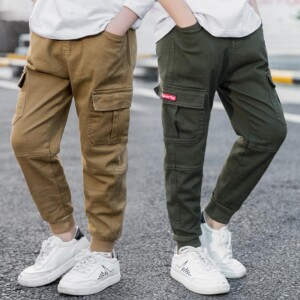 Solid Casual Pants for Boy