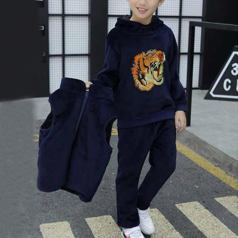 3-piece Tiger Pattern Suit for Boy