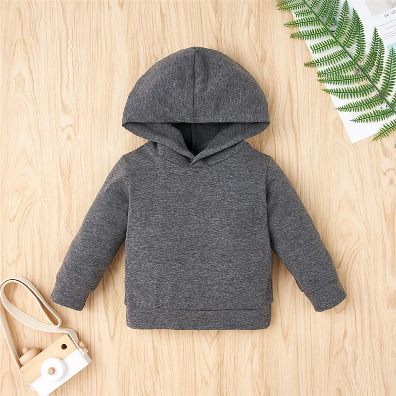 2-piece Hoodie & Letter Pattern Pants for Baby Boy