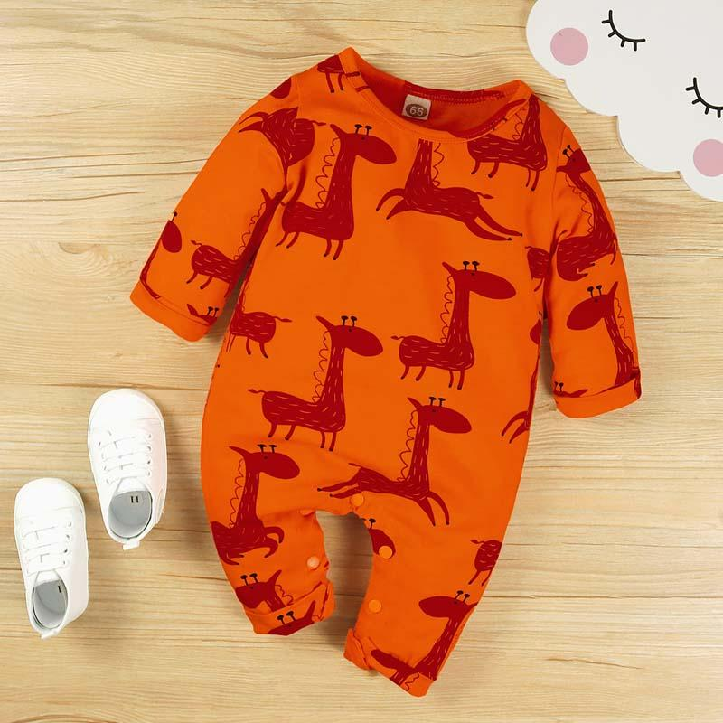 Cartoon Design Jumpsuit for Baby Boy