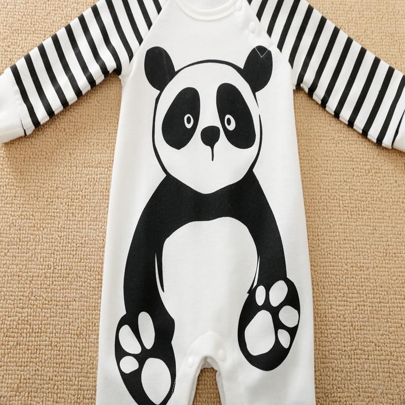 Panda Pattern Jumpsuit for Baby Boy