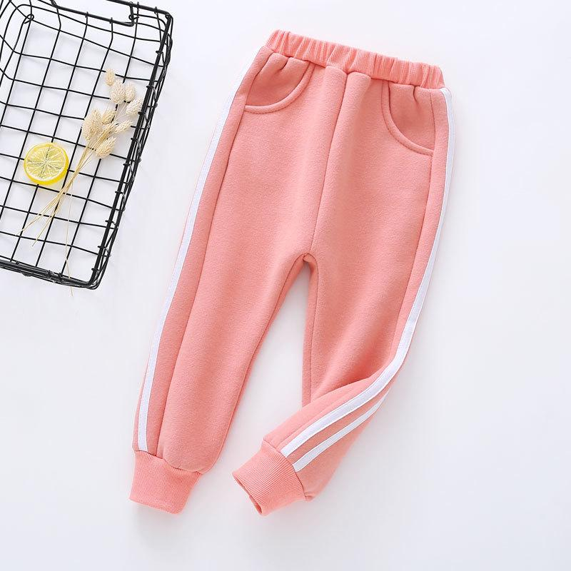 Solid Pattern Sports Pants for Toddler Boy