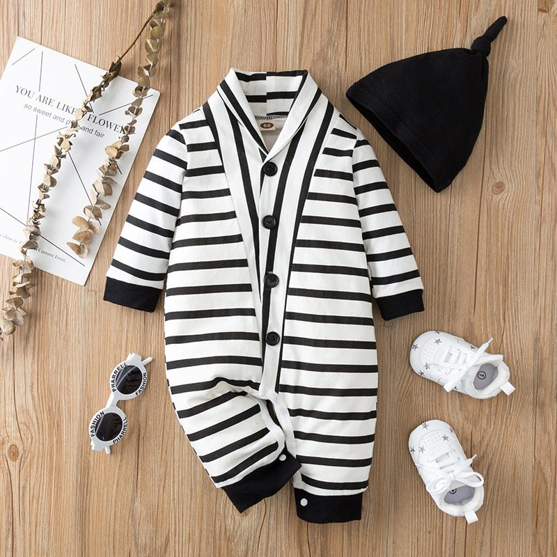Striped Romper for Baby
