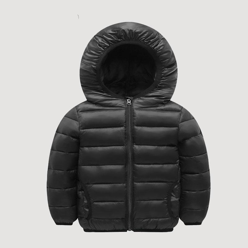 Solid Casual Puffer Jacket for Boy