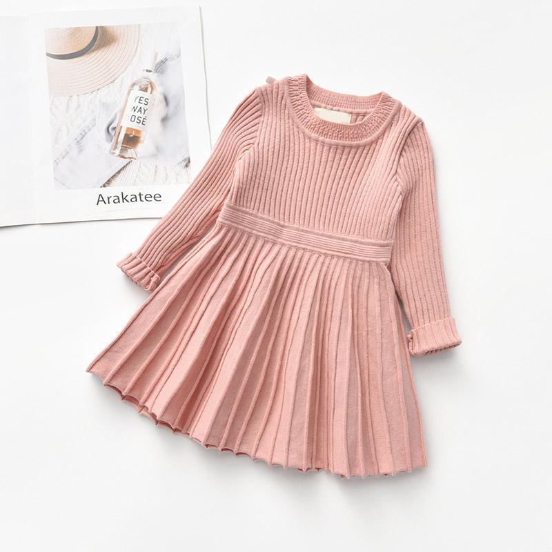 Solid Dress for Toddler Girl