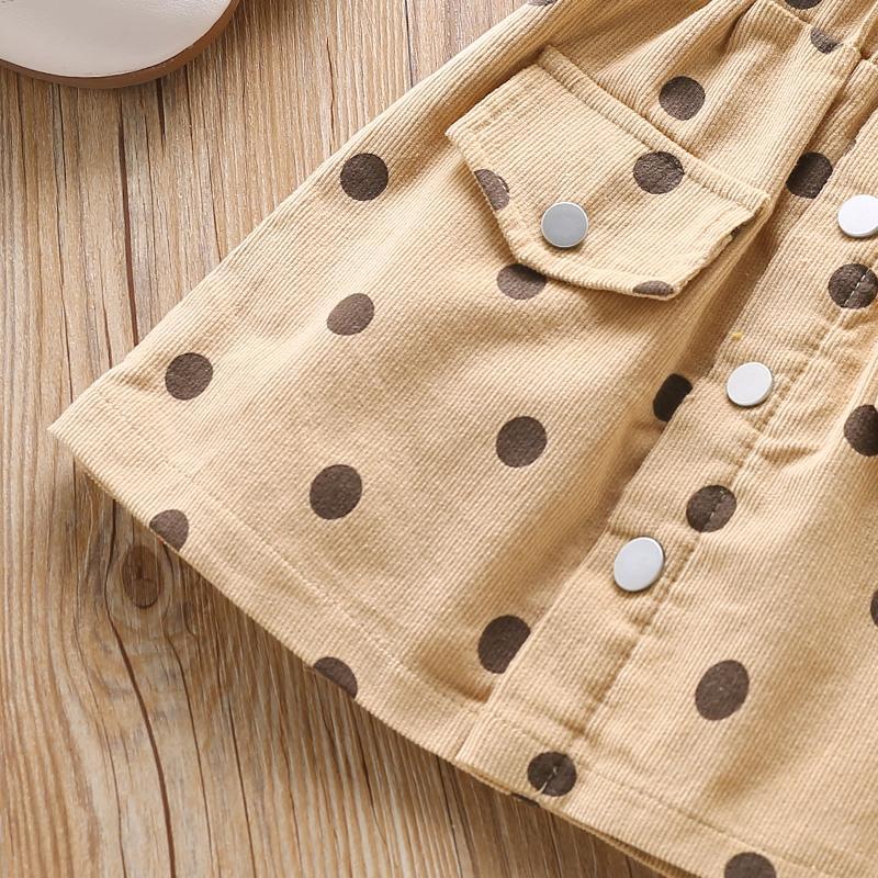 Polka Dot Skirts for Toddler Girl