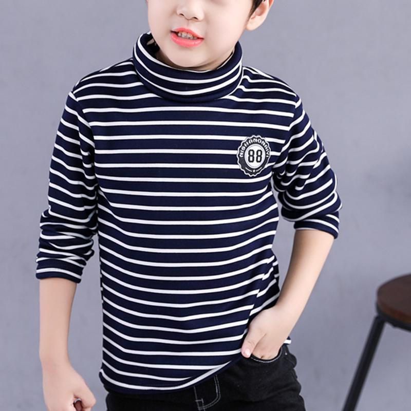 Stripes Pattern Long Sleeve T-shirt for Boy