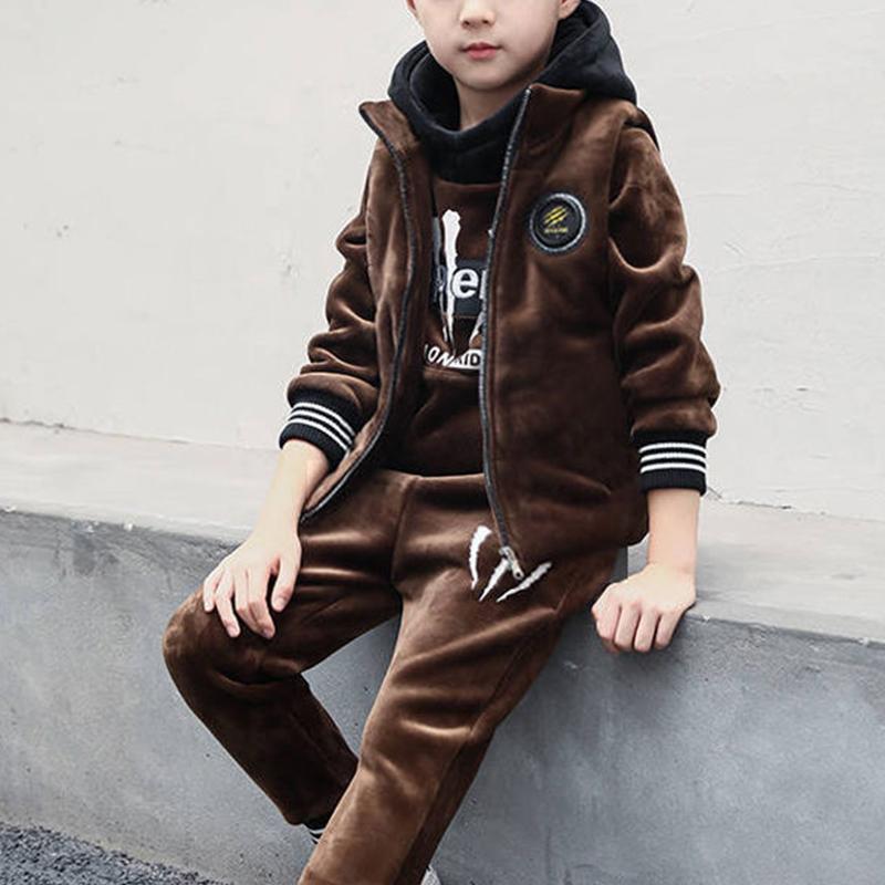 3-piece Letter Pattern Suit for Boy