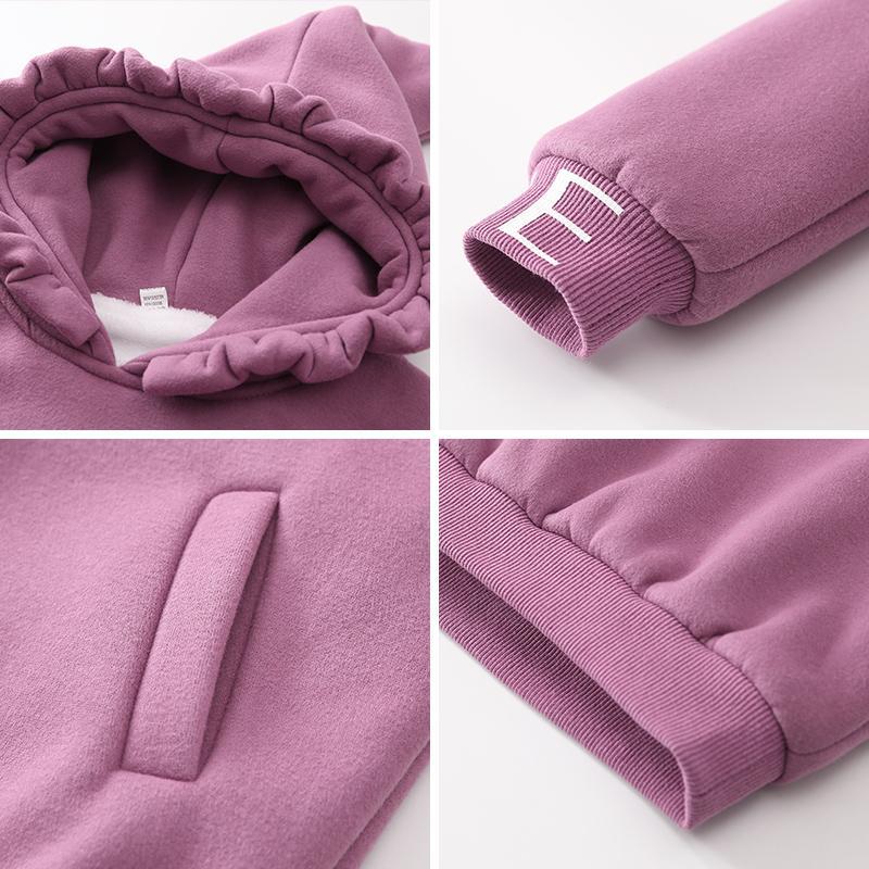 Fleece-lined Sweatshirts for Girl