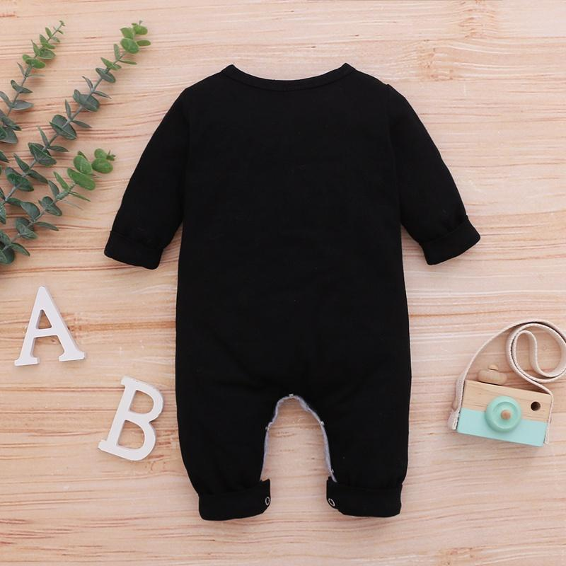 Letter Pattern Jumpsuit for Baby Boy