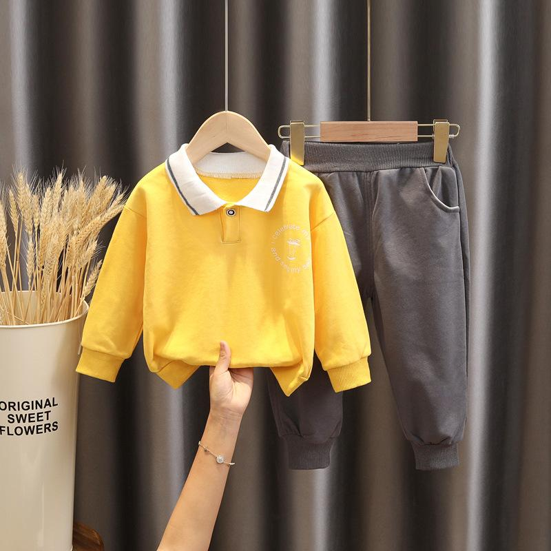 2-piece Top & Pants for Toddler Boy