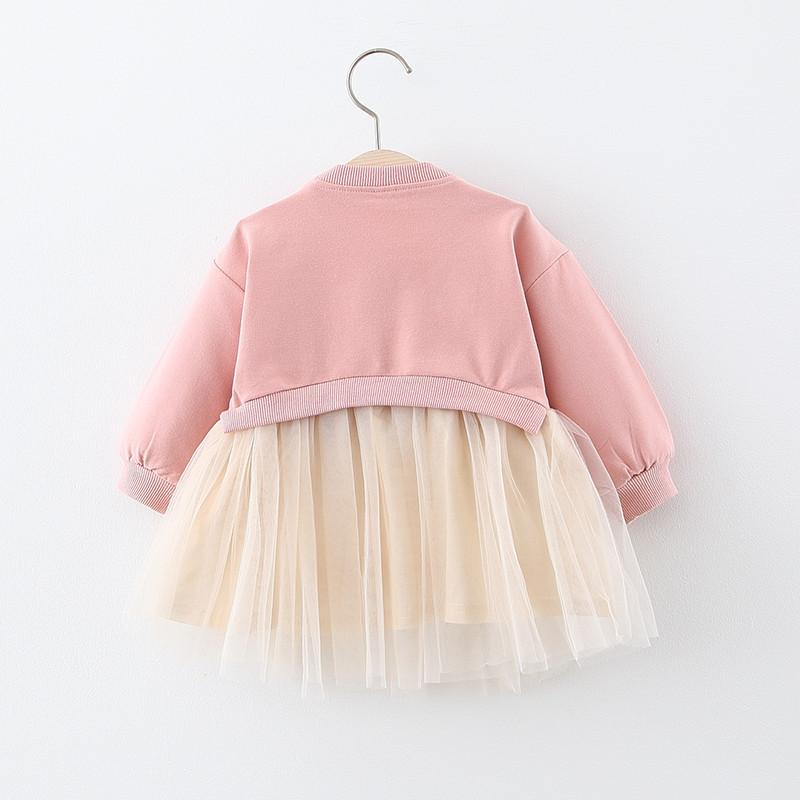Cartoon Puffy Princess Dress for Toddler Girl