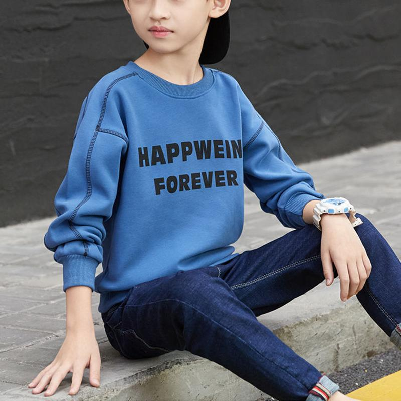 Letter Pattern Hoodie for Boy