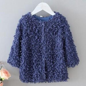 Plush coat for Toddler Girl