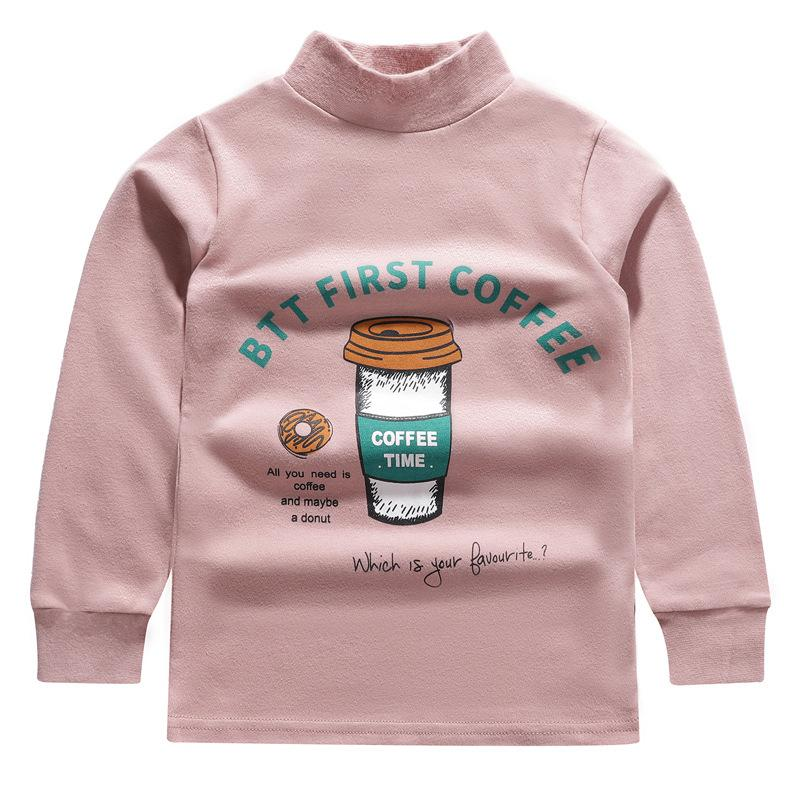 Cartoon Pattern Long Sleeve T-shirt for Girl