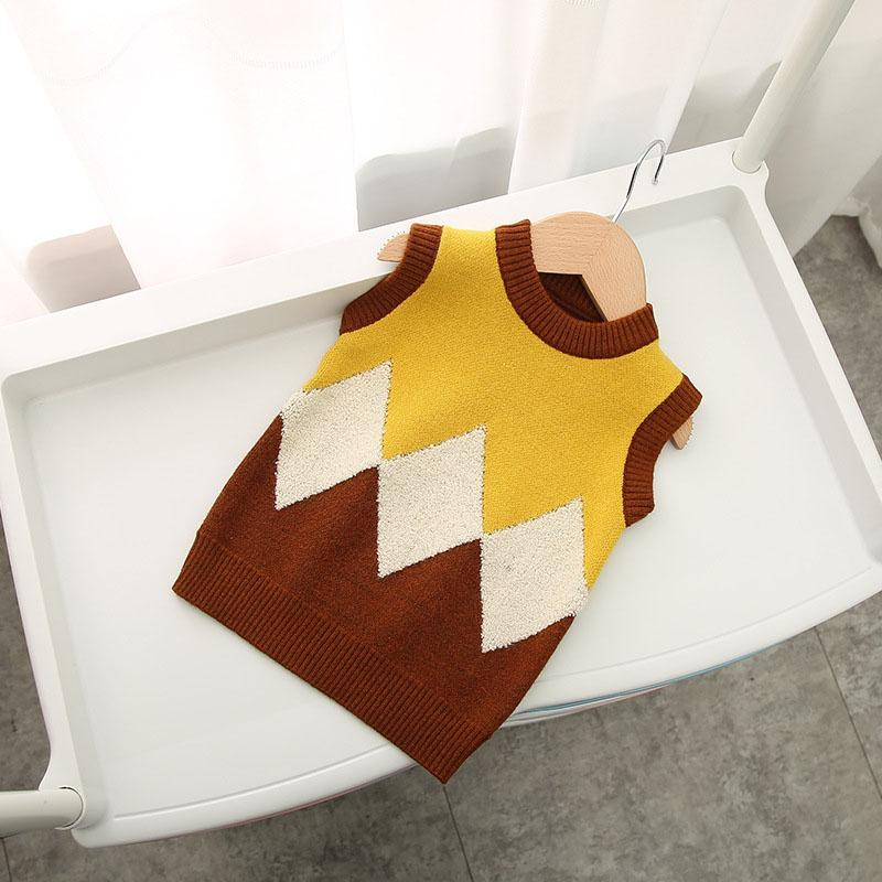 Color-block Pliad Knitted Sweater for Toddler Boy