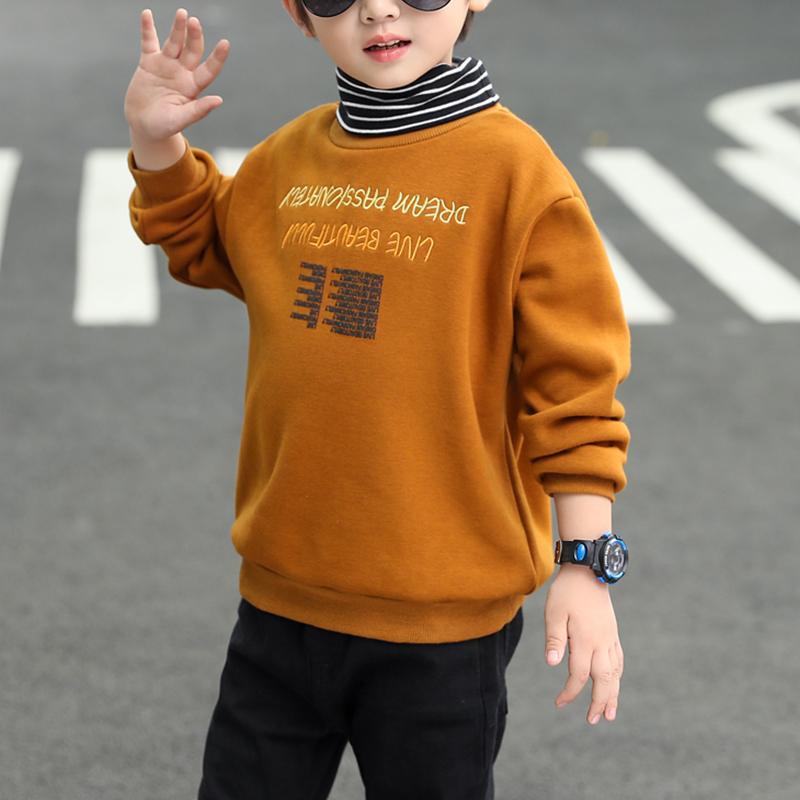 Letter Pattern Sweatshirts for Boy