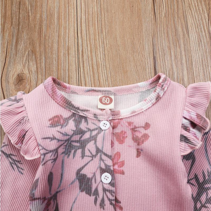 Floral Printed Jumpsuit for Baby Girl