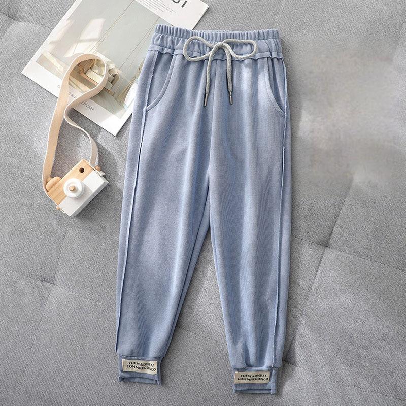 Letter Pattern Sports Pants for Girl