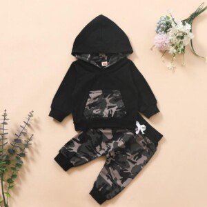 2-piece Camouflage Suit for Baby Boy