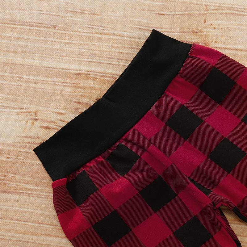 3-piece Letter Deer Long-sleeve Bodysuit, Pliad Pants with Hat