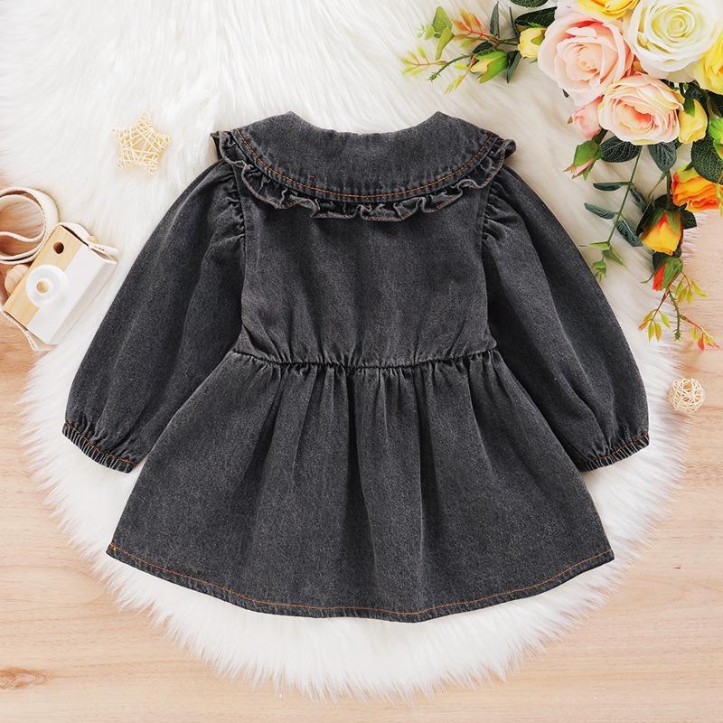Denim Dress for Toddler Girl