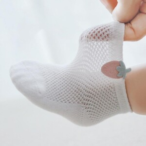 3-piece Breathable Mesh Children's Socks