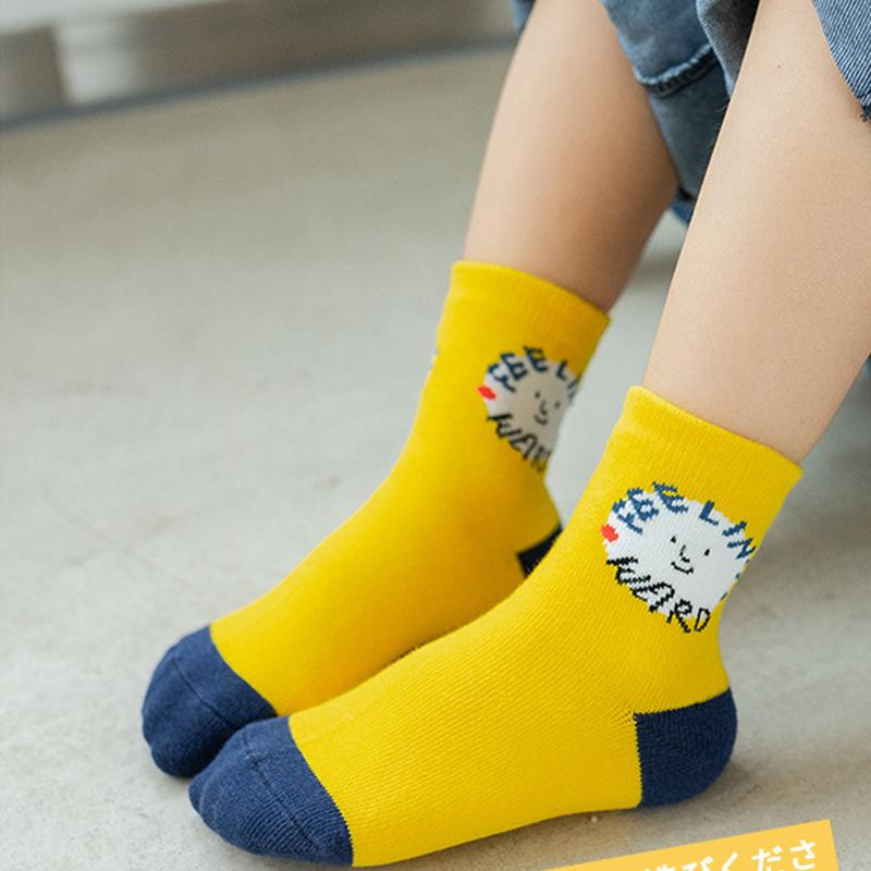 5-piece Knee-High Stockings for Children