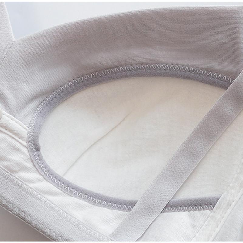 Solid No Steel Ring Nursing Bra