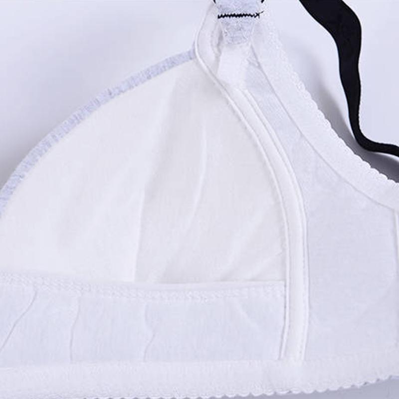 Lace Front Buckle Breastfeeding Bra